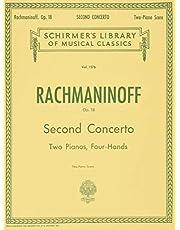 Concerto No. 2 in C Minor, Op. 18: Schirmer Library of Classics Volume 1576 Piano Duet