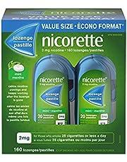 Nicorette Nicotine Lozenges, Quit Smoking Aid, Mint, 2mg 160 count
