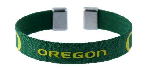 - NCAA Oregon Ducks Ribbon Band Bracelet