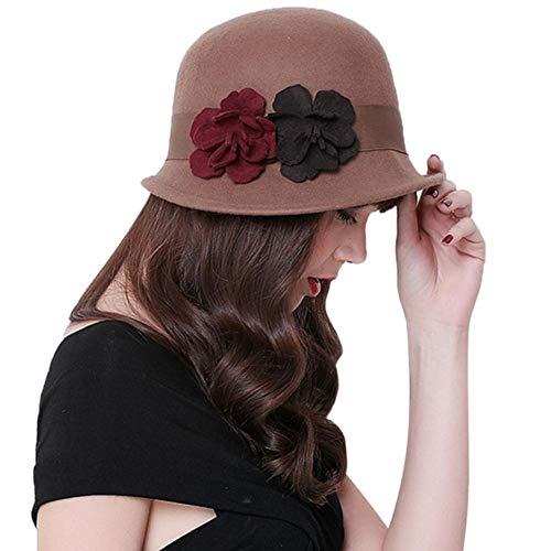 redshooeYY Sombrero de Copa inglés para Mujer 4e1e65d21d0