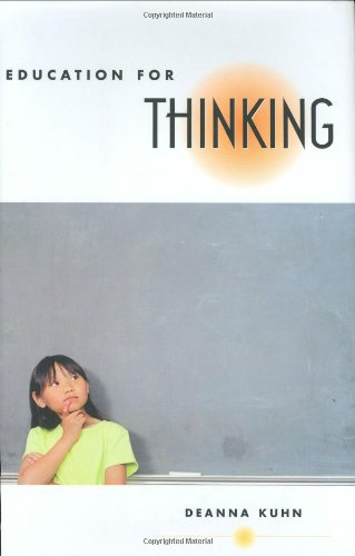 Education for Thinking ()