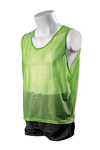 Kwik Goal Youth Deluxe Scrimmage Vest, Lime