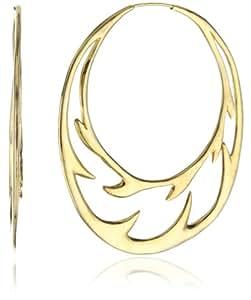 """MELINDA MARIA """"Spike Collection"""" Large Spike Hoop Earrings"""