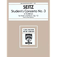 Student Concerto No. 3 in G Minor for Violin & Piano, Opus 12