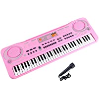 M SANMERSEN Kids Piano Toys for Girls Boys, Improved...