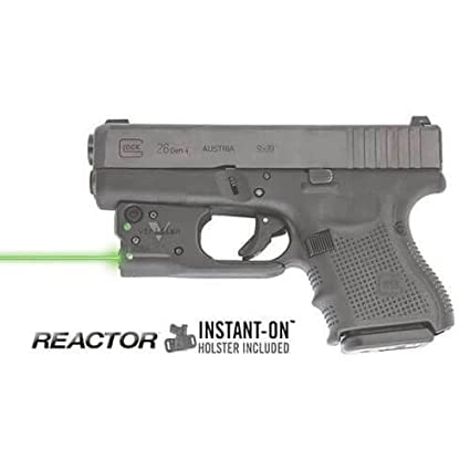 Amazon.com : Viridian Reactor 5 Green Laser Sight For Glock 19 / 23 ...