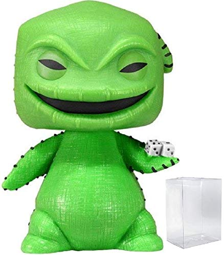 Funko Pop! Disney: The Nightmare Before Christmas - Oogie Boogie Vinyl Figure (Bundled with Pop Box Protector Case)