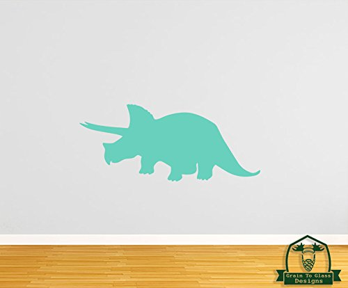 Grain To Glass Designs Triceratops Dinosaur 45