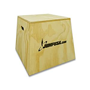 """Fully Assembled Plyo Box 18"""" with Rounded Edges by Plyometric Jump USA"""