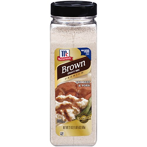 McCormick Brown Gravy Mix, 21 oz