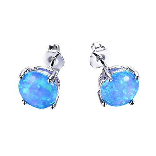 JunXin 7 4MM Sterling Silver Earring product image