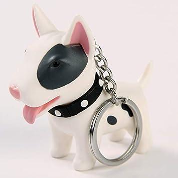 Anime Figura Perro Llavero Pintado A Mano Craft Bull Terrier ...