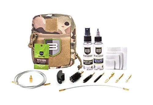 Breakthrough Clean Technologies QWIC 3-Gun Pull Through Cleaning Kit (223cal / 9mm / 12ga) (Camo) ()