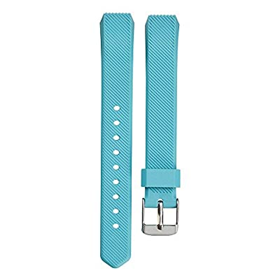 Fitbit Alta HR and Alta Bands With Metal Clasp, BeneStellar Newest Silicone Bracelet Strap Replacement Small&Large Bands With Buckle for Fitbit Alta HR and Alta