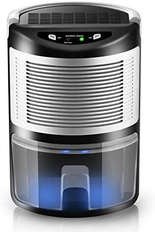 HBBOOI Deshumidificador 1L Semiconductor 360 ° deshumidificador portátil Saludable Inicio purificador de Aire deshumidificador for el hogar y Oficina Húmedo Molde de Control de Secado de lavandería: Amazon.es: Hogar