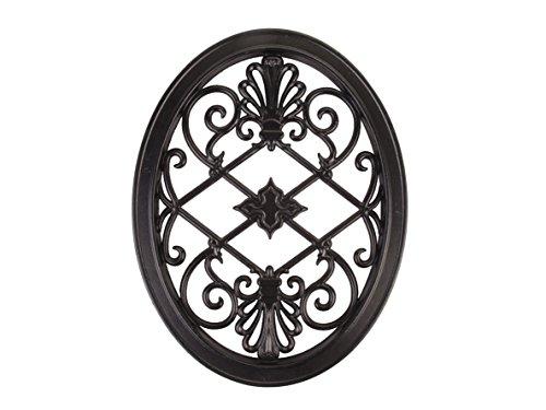 Nuvo Iron OVAL DECORATIVE GATE FENCE INSERT ACW56 Fencing,Fence,Gates,Home - Minimum Iron