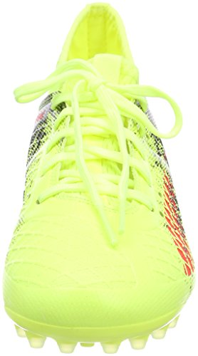Puma Unisex-Kinder Future 18.3 MG Jr Fußballschuhe Gelb (Fizzy Yellow-Red Blast-Puma Black)