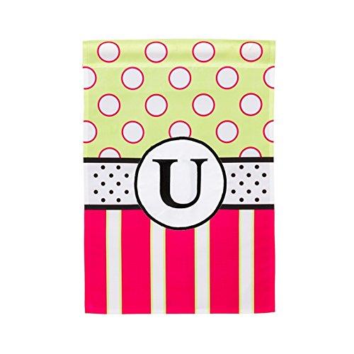New Baskerville Peppy Monogram Vertical Flag Letter: (New Monogram Letter)