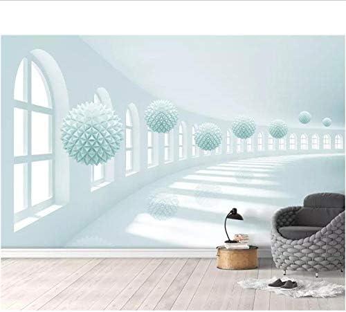 Wuyyii カスタム壁紙3D写真壁画エレガントで新鮮なボールスペースステレオ背景壁紙家の装飾3D-250X175Cm