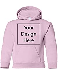 Add Your Own Text and Design Custom Personalized Youth Sweatshirt Hoodie