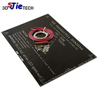 AiCheaX MK3 MK2A - Cama térmica de aluminio, 300 x 200 mm ...