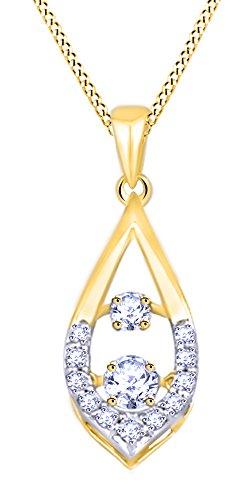 0.4 Ct Yellow Diamond - 4