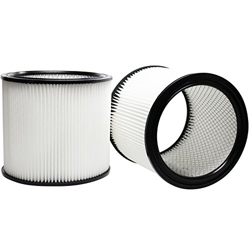 2-Pack Replacement 90304 Filter for Shop-Vac – Compatible with Shop-Vac 90304, Shop-Vac LB650C, Shop-Vac QPL650, Shop-Vac 965-06-00, Shop-Vac CH87-650C, Shop-Vac SL14-300A, Shop-Vac 925-29-10, Shop-Vac 963-12-00, Shop-Vac 596-07-00, Shop-Vac 586-74-00, Shop-Vac 586-75-00, Shop-Vac 586-76-00 Review