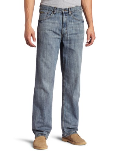 Lee Men's Premium Select Relaxed Fit Straight Leg Jean, Faded Light, 30W x 34L ()