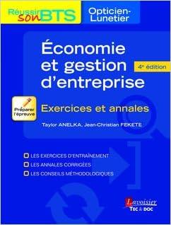 Lire en ligne Exercices d'économie et gestion d'entreprise/communication epub, pdf