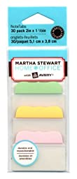 Martha Stewart Home Office with Avery® Tabs, 2-Inch Solid, Assorted Pastel Colors, 10-Tabs/Color, 3 Colors, 30-Tabs/Pack