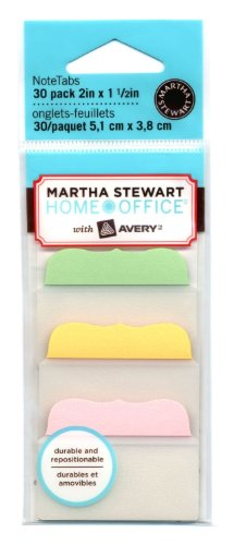 Martha Stewart Home Office with Avery Tabs, 2-Inch