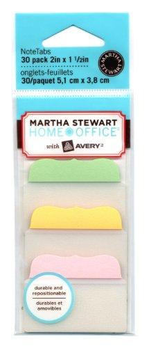 Martha Stewart Assorted 10 Tabs 30 Tabs