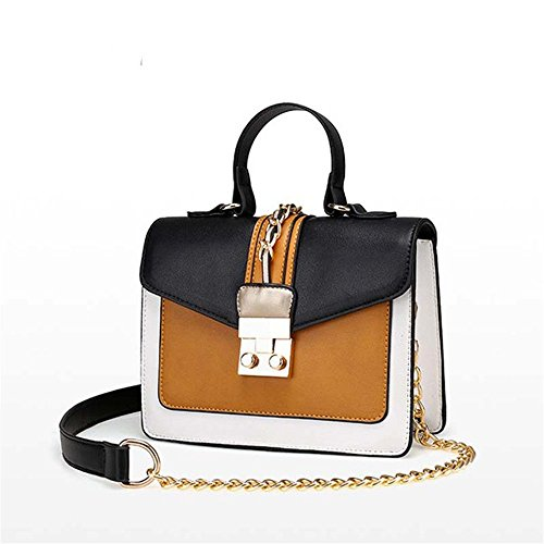 Gwqgz Single Bag New Fashion Handbag Blue Bag Brown