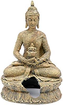 **Free Shipping** Penn Plax Resin Sitting Buddha Large Each