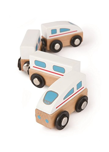 Hape Qubes Wooden Magnetic Bullet Train Set for sale  Delivered anywhere in Canada