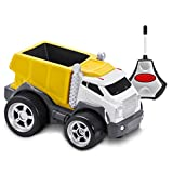 Kid Galaxy Soft and Squeezable Radio Control Dump Truck