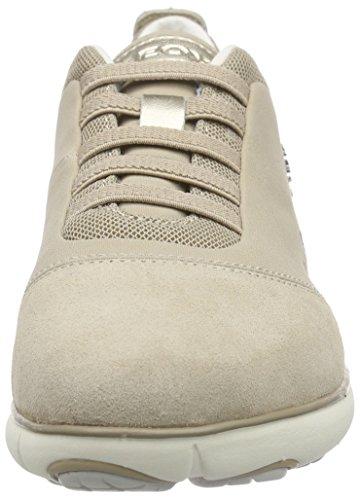 C C6738 Nebula Beige D Sneakers beige Basses Geox Femme gEqP8