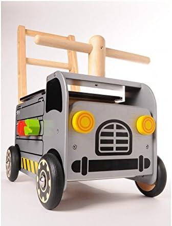 I'm Toy - Pousseur Porteur Engin de Chantier - IM87471