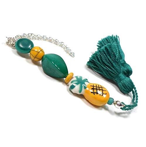 Pineapple Scissor Fob Key Fob Purse Charm Dangle ()