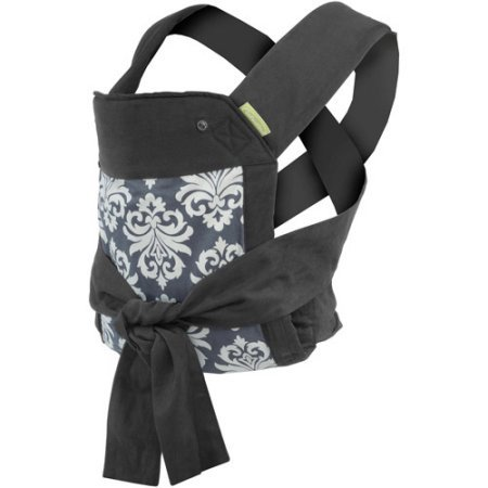 Infantino - Sash Mei Tai Baby Carrier - Black / Grey