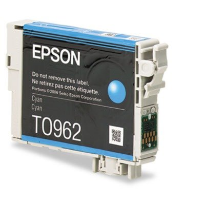 Epson T096220 Ink 430 Page-Yield Cyan Innovative Ultra-Vivid Colors Gallery Exhibition Quality