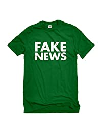 Indica Plateau FAKE NEWS Mens T-Shirt