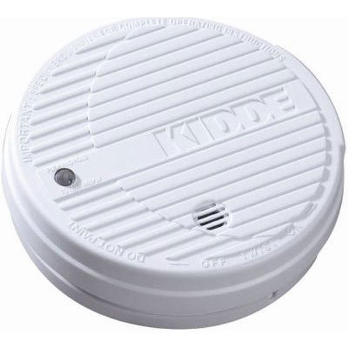Kidde i9050 Battery-Operated Basic Smoke Alarm with Low Battery Indicator, 1-Pack - Kidde Basic Smoke Alarm