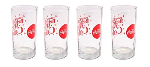 (Set of 4 Coca Cola 'Everything Tastes Better with Coke' 16 oz Glass)