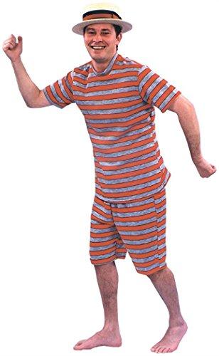 Morris Costumes BATHING SUIT MENS 20S ()