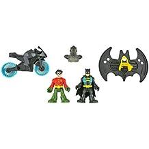 IMAGINEXT Bat Cave Replacement Parts - Batman, Robin, Motorcycle and Batwing