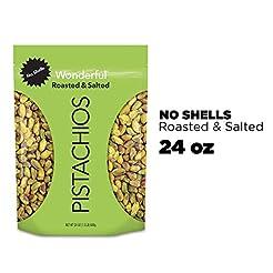 Wonderful Pistachios, No Shells, Roasted...