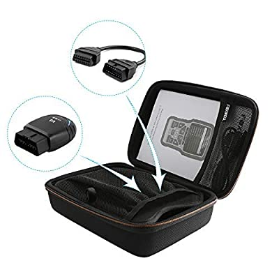 FOXWELL NT301 CASE OBD2 Scanner Professional Enhanced OBDII Diagnostic Box: Automotive