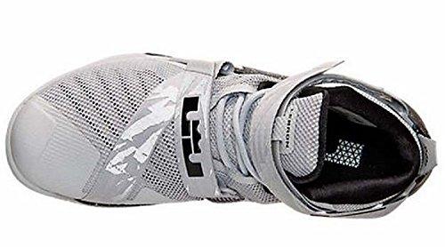 Nike Lebron Soldat Xi Herre Basketball Sko Ulv Grå / Hvid / Sort n9qq5YmHa9