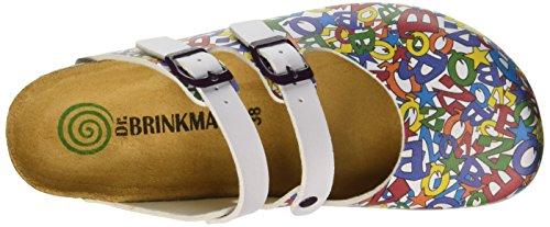 Dr. Brinkmann 600367 - Mules Mujer Varios Colores - Mehrfarbig (bunt)